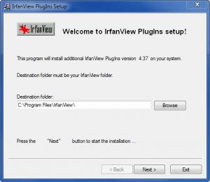 Enlarge IrfanView ALL PlugIns Screenshot