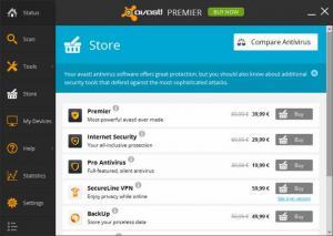 Enlarge Avast Premier Screenshot