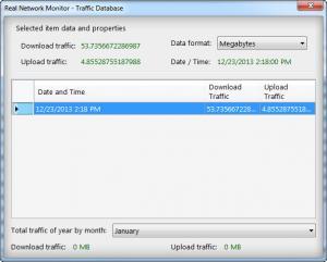 Enlarge Real Network Monitor Screenshot