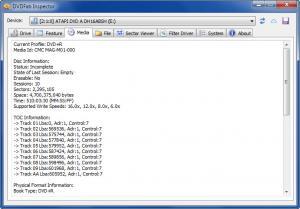 Enlarge DVDFab Inspector Screenshot