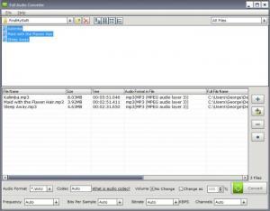 Enlarge Full Audio Converter Screenshot