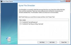 Enlarge Synei PC Cleaner Screenshot