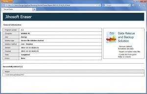 Enlarge Jihosoft Free Eraser Screenshot