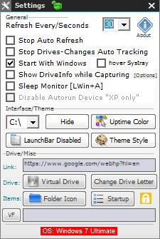 Enlarge DriveInfo Screenshot