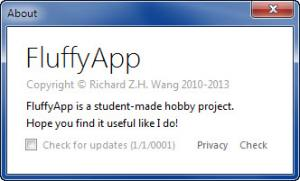 Enlarge FluffyApp Screenshot