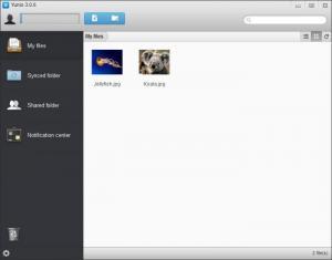 Enlarge Yunio Screenshot