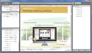 Enlarge FlexPaper Desktop Publisher Screenshot