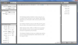 Enlarge FlexPaper Desktop Publisher Screenshot