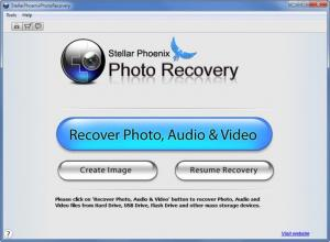 Enlarge Stellar Phoenix Photo Recovery Screenshot