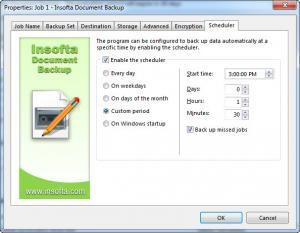 Enlarge Document Backup Screenshot