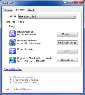 Enlarge Phantom CD Screenshot