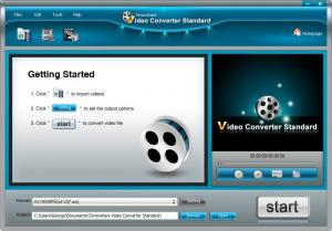 Enlarge Tenorshare Free Video Converter Screenshot
