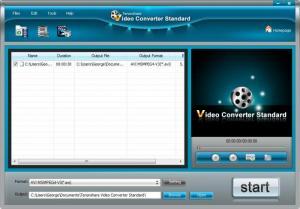 Enlarge Tenorshare Free Video Converter Screenshot