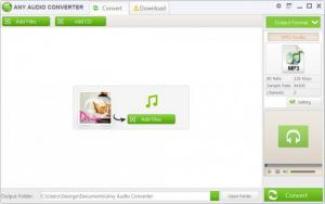 Enlarge Any Audio Converter Screenshot