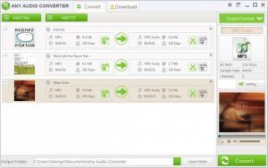 Enlarge Any Audio Converter Screenshot