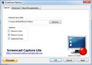 Enlarge Screencast Capture Lite Screenshot