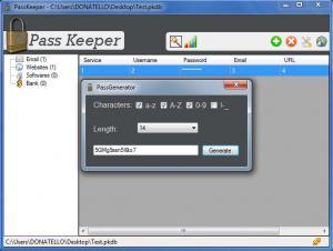 Enlarge Hekasoft PassKeeper Screenshot