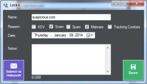 Enlarge Hekasoft SiteLocker Screenshot