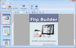 Enlarge Flip Builder Screenshot