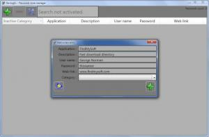 Enlarge Password Store Manager Screenshot