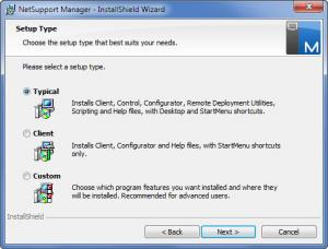 Enlarge NetSupport Manager Screenshot