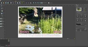 Enlarge Photo Calendar Studio Screenshot