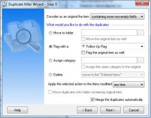 Enlarge Duplicate Killer Screenshot