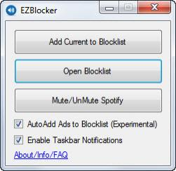 Enlarge EZBlocker Screenshot
