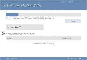 Enlarge Cezurity Antivirus Scanner Screenshot