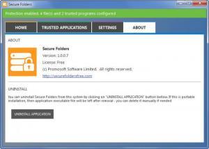Enlarge Secure Folders Screenshot