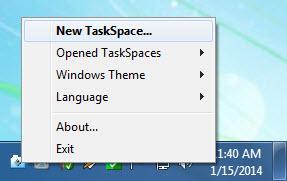Enlarge TaskSpace Screenshot