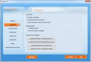 Enlarge Chit Chat for FaceBook Screenshot
