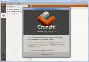 Enlarge Crunch Screenshot
