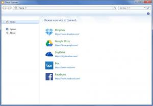 Enlarge Cloud Explorer Screenshot