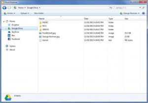 Enlarge Cloud Explorer Screenshot