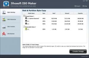 Enlarge Jihosoft ISO Maker Screenshot