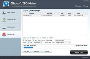 Enlarge Jihosoft ISO Maker Screenshot