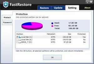 Enlarge FastRestore Screenshot