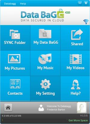 Enlarge DataBaGG Screenshot