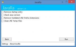Enlarge JavaRa Screenshot