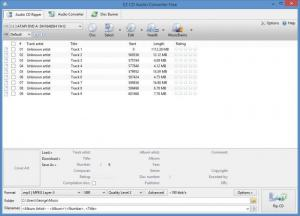 Enlarge EZ CD Audio Converter Screenshot