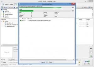 Enlarge EZ CD Audio Converter Screenshot