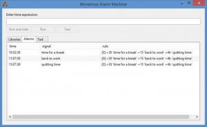 Enlarge Wondrous Alarm Machine Screenshot