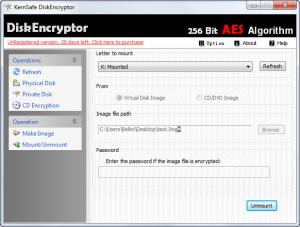Enlarge DiskEncryptor Screenshot