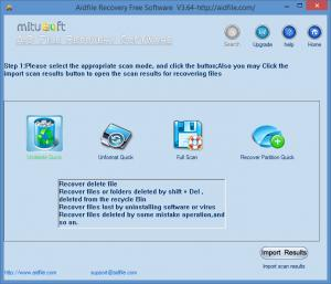 Enlarge Aidfile Recovery Screenshot