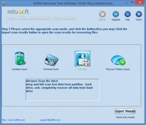 Enlarge Aidfile Recovery Screenshot