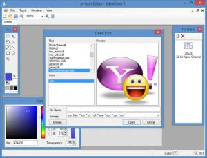 Enlarge M Icon Editor Screenshot