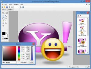 Enlarge M Icon Editor Screenshot