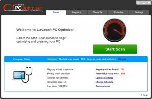 Enlarge Lavasoft PC Optimizer Screenshot