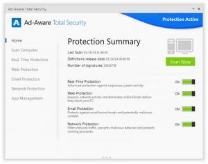 Enlarge Ad-Aware Total Security Screenshot